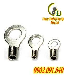 Đầu cos tròn trần RNB là một loại cosse trần còn thường được gọi là đầu cốt khuyên trần chế tạo từ đồng thau mạ thiếc chống gỉ dùng để đấu nối tủ điện và thiết bị điện