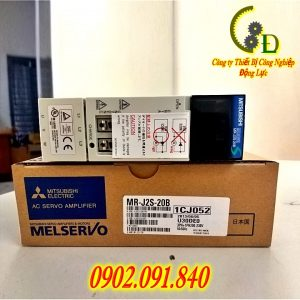 Bộ điều khiển AC SERVO DRIVER AMPLIFIER MR-J2S-20B MITSUBISHI do công ty Động Lực nhập khẩu chính hãng phân phối và bảo hành uy tín 1 năm trên toàn quốc báo giá tốt nhất