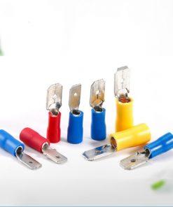 Đầu cos ghim capa hay còn gọi là đầu cosse hoặc đầu cốt âm dương bằng đồng chuyên dùng để đấu nối dây cáp điện cho bình ắc quy xe đạp điện xe máy hoặc bình nước nóng