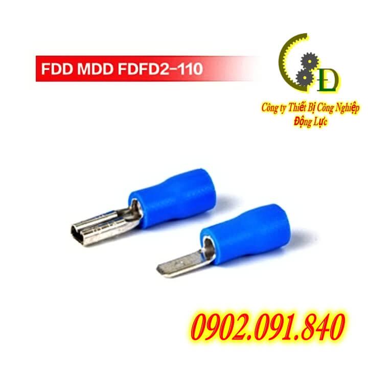 Đầu cos ghim dẹp capa, cosse đực cái, cốt âm dương MDD+FDD do công ty dongluchp phân phối với giá tốt, giao hàng nhanh, uy tín, tiện lợi