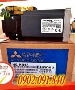 Động cơ AC servo motor HG-KR43 Mitsubishi do công ty Đông Lực nhập khẩu chính hãng phân phối và bảo hành uy tín 1 năm toàn quốc báo giá tốt nhất thị trường hiện nay
