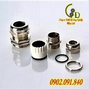 Ốc siết cáp kim loại PG 9 là dụng cụ chuyên dụng để khóa kẹp dây cáp điện và chống thấm nước cho tủ điện chế tạo từ đồng mạ niken chống gỉ báo giá tốt nhất trên thị trường