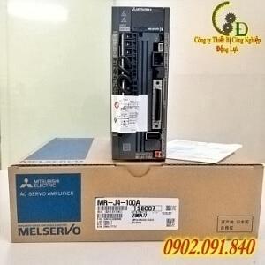 MR-J4-100A bộ điều khiển động cơ Melservo AC SERVO DRIVER PLC MITSUBISHI chính hãng do công ty động lực phân phối báo giá rẻ nhất thị trường