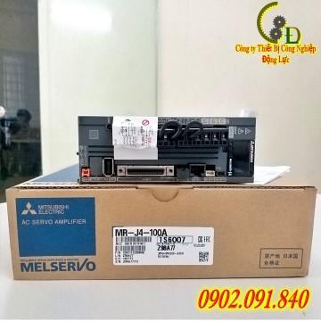 MR-J4-100A SERVO DRIVER APLIFIER do công ty TNHH thiết bị công nghiệp động lực nhập khẩu và phân phối trên toàn quốc