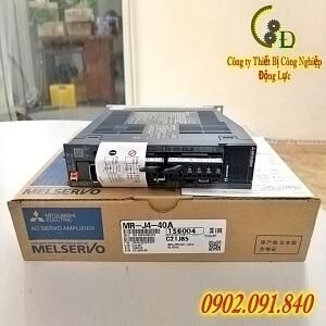 MR-J4-40A bộ điều khiển AC servo amplifier driver PLC mitsubishi 0.4kw do công ty động lực phân phối chính hãng báo giá rẻ nhất thị trường hiện nay