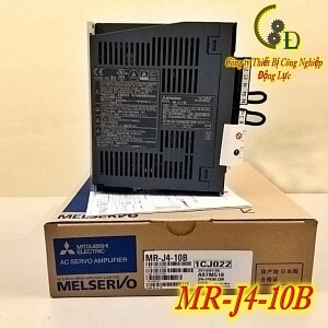 bộ điều khiển ac servo driver mr-j4-10b do công ty động lực nhập khẩu chính hãng phân phối và bảo hành uy tín 1 năm trên toàn quốc báo giá tốt nhất