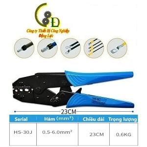 kìm bấm cos hay còn gọi là kiềm bấm cốt hoặc kềm bấm cosse là sản phẩm chuyên dụng để bấm các loại đầu cos dây điện do công ty động lực nhập khẩu báo giá tốt nhất