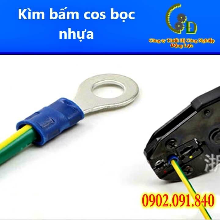 Đầu cos khuyên phủ nhựa bằng đồng thau mạ thiếc bọc nhựa PVC cao cấp do công ty động lực phân phối trên toàn quốc cam kêt giá tốt nhất