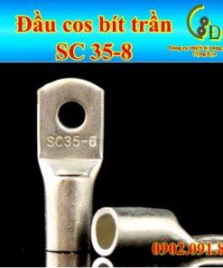 Đầu cos bít trần SC hay thường gọi là cosse bích là một loại đầu nối dây điện được chế tạo từ đồng thau mạ thiếc chống gỉ, sản phẩm do công ty dongluchp phân phối với giá tốt, giao hàng nhanh, uy tín, tiện lợi