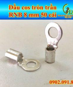 Đầu cos tròn trần RNB 8-6 hay còn gọi là đầu cosse khuyên, cốt khoen là một loại đầu nối dây điện bằng đồng do công ty dongluchp sản xuất và phân phối giá tốt, uy tín, tiện lợi