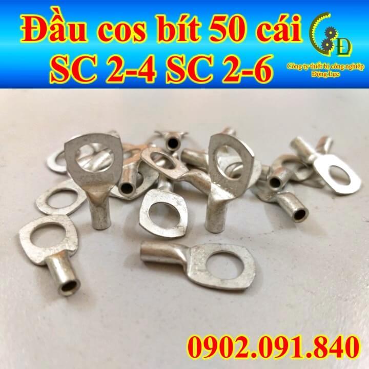 Đầu cos bít trấn SC 2.5mm bằng đồng thau mạ thiếc chống gỉ sản phẩm do công ty động lực dongluchp sản xuất và phân phối với giá tốt, giao hàng nhanh, uy tín tiện lợi